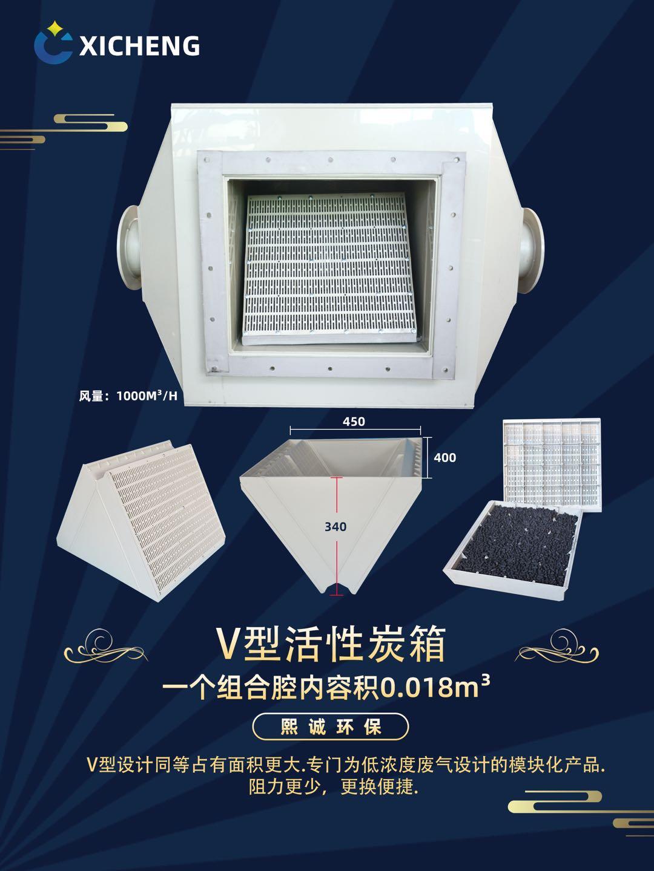 V型活性炭箱