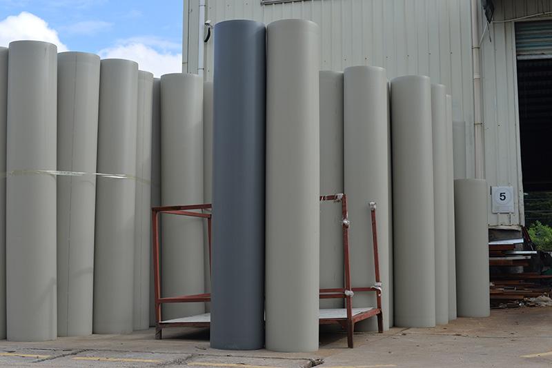 直径500成型pp风管